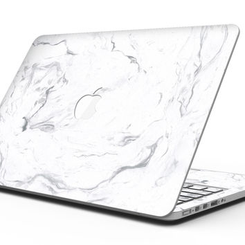 Mixtured Gray v13 Textured Marble - MacBook Pro with Retina Display Full-Coverage Skin Kit
