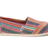TOMS Classic Quilted Weave Shoe