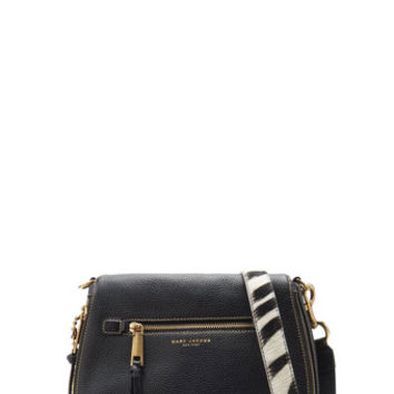Recruit Saddle Bag with Zebra Strap - Marc Jacobs