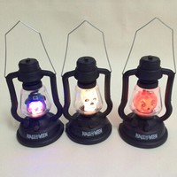 Halloween Scream Portable Lights Tricky props  Halloween Lighting nightlight Decorations