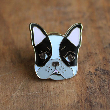 Boston Terrier Lapel Pin