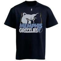 Majestic Memphis Grizzlies Team Game Face 2.0 T-Shirt - Navy Blue