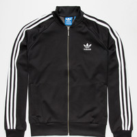 Adidas Originals Superstar Mens Track Jacket Black  In Sizes