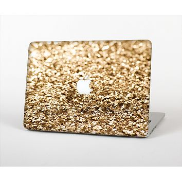"The Gold Glimmer V2 Skin Set for the Apple MacBook Pro 13"" with Retina Display"