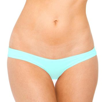 Scrunch Hip Half Back (One Size,Turquoise)