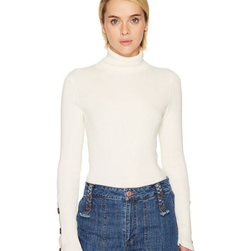See by Chloe Emebellished Turtleneck Sweater