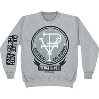 Pierce The Veil Men's PTV Sweatshirt Grey