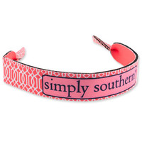 Simply Southern Vine Sunglass Retainer - Coral