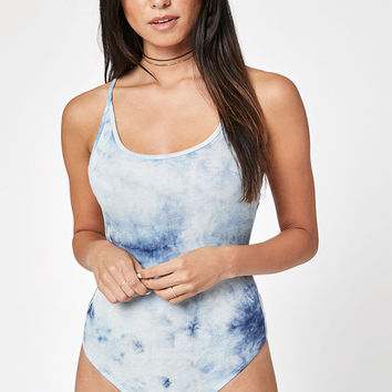 LA Hearts Tie Dye Backless Bodysuit at PacSun.com