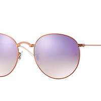 Ray-Ban ROUND METAL FOLDING Bronze-Copper , RB3532 | Ray-Ban® USA