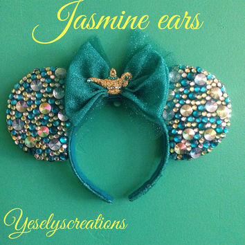 Jasmine minnie ears
