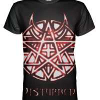 Disturbed All Over Print T-shirt