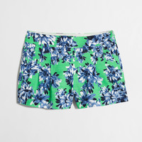 Factory printed pleated short : 3"
