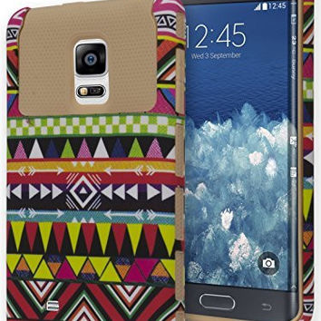 Galaxy Note Edge Case,    Protective Case -  Gold Silicone