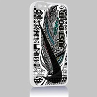 Just Do It Nike Aztec Geometric 05 for Iphone 4/4s 5 5c 6 6plus Case (iphone 6plus white)