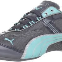 Puma Women's Takala Shoe,Steel Gray/Blue/Silver,8.5 B US
