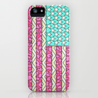 Vintage USA Flag iPhone & iPod Case by M Studio