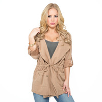Seneca Jacket In Tan
