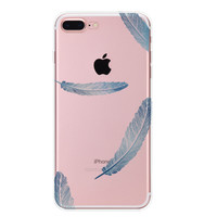Lace Feather Case Cover for iPhone 7 7Plus & iPhone se 5s 6 6 Plus +Gift Box-88