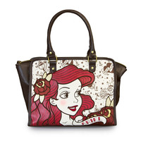Disney Loungefly Little Mermaid Ariel True Love Tote Bag