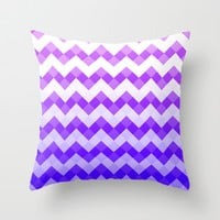 Violets are blue... Throw Pillow by Karlis Dmitrijevs