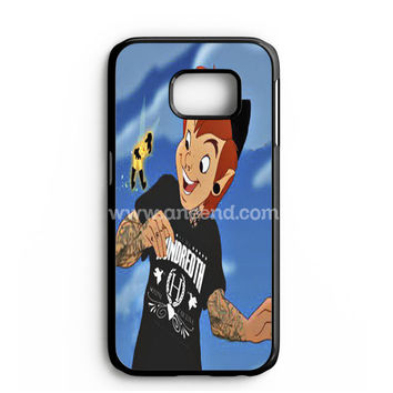 Peter Pan And Tinkerbell With Tattoo Samsung Galaxy Note 7 Case | aneend