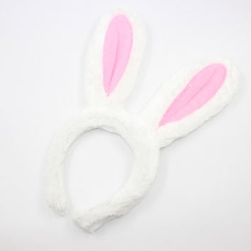 Giant Mickey ear Bowknot Hairbands for Girls Cute bunny ears headbands
