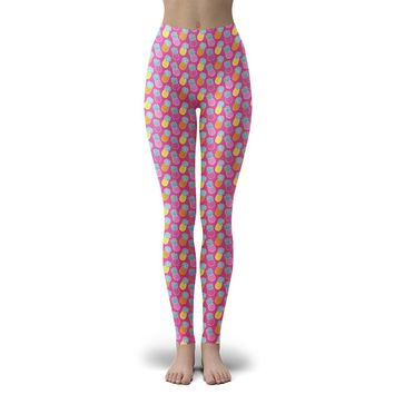 Simply Southern Camper Leggings Pineapple