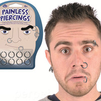 PAINLESS PIERCINGS CLIP-ONS