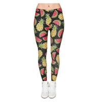 Watermelon and Pineapple Leggings