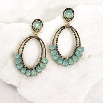 Low Hanging Fruit Earrings in Turquoise