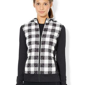 Lauren Ralph Lauren Quilted Buffalo Check Jacket