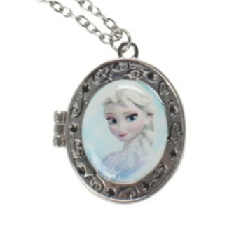Disney Frozen Elsa Locket Necklace