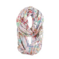 Aerie Foil Print Loop Scarf | Aerie for American Eagle