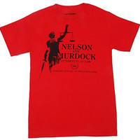 Daredevil Nelson and Murdock Attorneys T-shirt