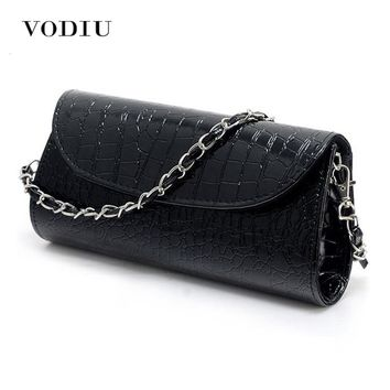 Hot Casual Women Messenger Bags Stone Pattern Lady Handbag PU Leather Clutch Wristlet Evening Bags rse Fashion Bags