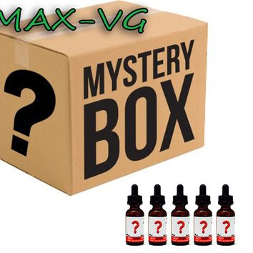 Mystery Assortment 5-Pack of Max-VG E-Juice