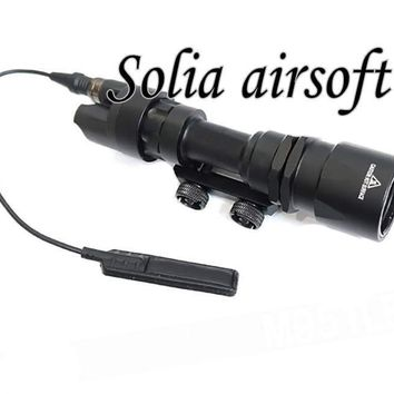 Tactical M951 Scout Light Weapon Light Constant&Momentary CREE LED Flashlight Super Bright For Hunting