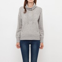 WOMEN URBAN SWEAT HIGH NECK LONG SLEEVE PULLOVER | UNIQLO