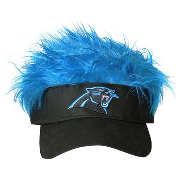 Concept One Carolina Panthers Flair Hair Visor - Adult