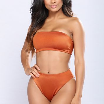 To Tan To Be True Bikini - Copper
