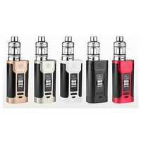 original Wismec Predator 228w mod ecig electronic cigarette Kit with predator box mod and NS triple elabo tank vape