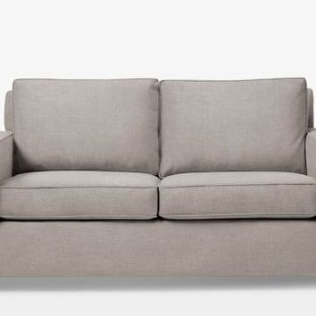 "West Elm Henry Sofa -- 76"", Linen Weave, Natural"