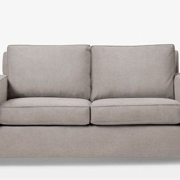 West Elm Henry Sofa 76 Linen Weave Natural