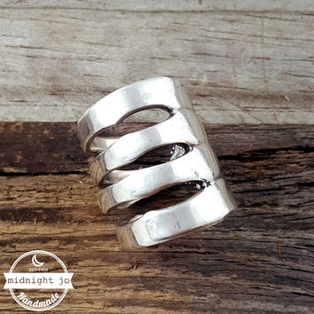 Towle Old Colonial Sterling Silver Fork Ring