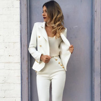 Blazer Luxury Slim Stylish Long Sleeve Jacket [9430885444]