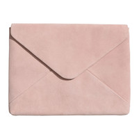 "H&M Suede Laptop Case 13"" $49.99"