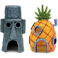 Walmart: Penn Plax SpongeBob Homes Assorted Aquarium Decoration