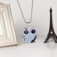 owl fashion necklace QZ1027FD