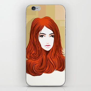 Orange Girls iPhone & iPod Skin by dhiazkaosy